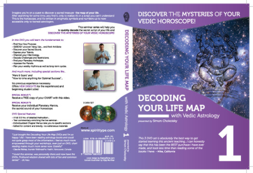 DECODING YOUR LIFE MAP WITH VEDIC ASTROLOGY Vol 1and 2 Set