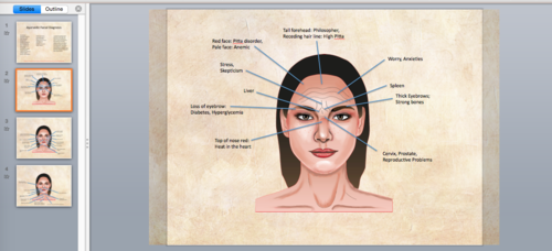 Facial Diagnosis Power Point Presentation